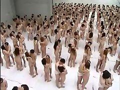 Big Group Fuckfest Orgy