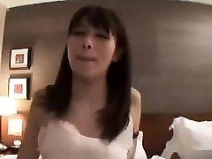 Subtitled POV Asian AV huge-boobed bath blowjob handjob