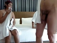 Couple share asian hooker for swing asia insatiable part 1
