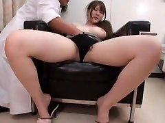Horny Japanese girl Momoka Nishina in Wonderful Medical JAV vid