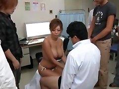 Exotic Japanese chick Kairi Uehara in Incredible Gigantic Tits, Money-shots JAV flick