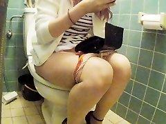Asian junior female restroom pt 2