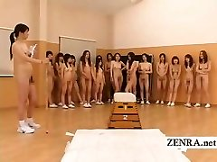 Nudist Japan futanari dickgirls and cougar gym instructor