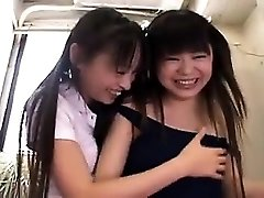 Hot inexperienced chinese babes threesome HD video 2