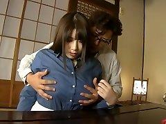 Crazy Japanese model Chitose Saegusa in Mischievous cunnilingus, bbw JAV clip