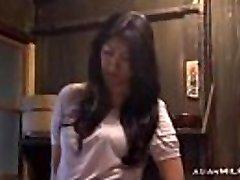 Milf Fingering Herself Having Orgasm On The Floor In The Kitchen
