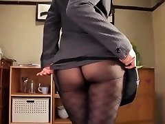 Shou nishino soap superb chick pantyhose ass cane ru nume