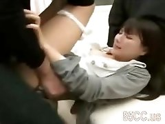 sexy office lady porked by health center geek