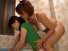 Japanese Lesbo Maid