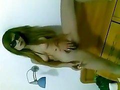 Chinese female pussy smoking