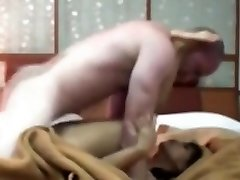 Indonesian Maid Having First Time Romp with White Cock