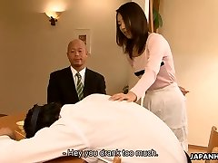 Chinese slut Yui cheating on her boy in his home