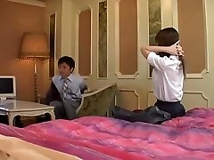Naughty Japanese girl Yuri Kousaka in Super-naughty Blowjob, Amateur JAV video