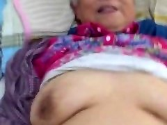 Very Super-cute Chinese Granny Getting Fuck