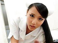 Hot Nurse Ren Azumi Boinked By Patient - JapanHDV
