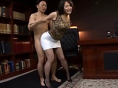 Japanese Office Slut Penetrated Hard