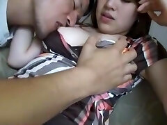 Incredible Chinese model Yui Aikawa in Horny Couple, Stocking JAV scene