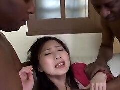 Finest Japanese chick Megumi Haruka in Hottest Big Tits, Big Trouser Snake JAV video