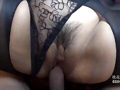 Black Stocking Ultra-small Panty Stile