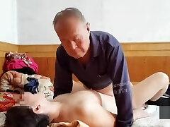 vieux chinois à une pute