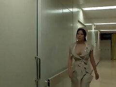 Incredible Chinese dame Yuna Shiina in Amazing Nurse, Big Tits JAV scene
