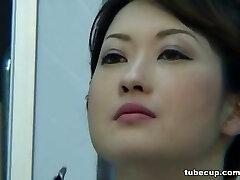 Cosplay Porn: Asians Nurses Cosplay Japanese Cougar Nurse Fucked Medics Office part 1