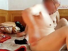Chinese grandpa fuckin' hard