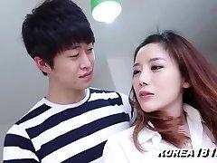 Korean Porn Super-hot REDHEADED Korean