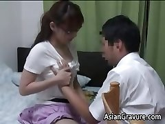 Sexy japanese with phat breasts home teacher part1