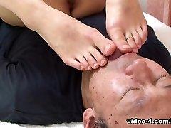 Miku Sachi in Miku Sachi always returns a favor to a stud who sates her - AviDolz