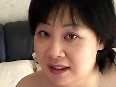 44yr old Chubby Big-boobed Japanese Mom Craves Cum (Uncensored)