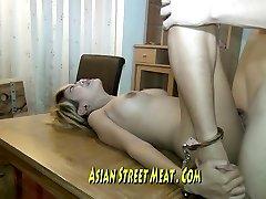 Long Legged Thai Honey Imprissoned In Rusting Motel