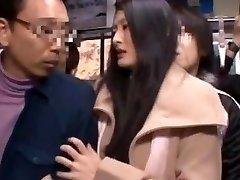 Risa Murakami, Madoka Kitahara in Pulverized In Front Of Spouse