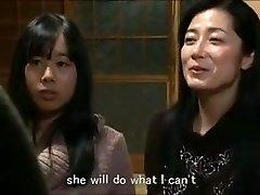 Jap mom daughter keeping house m80 slaves