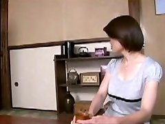 Japanese Mommy Comforts Young Boy...F70