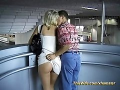 Train smashing with nasty wife