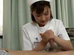 Finest Japanese chick Yukiko Suo in Crazy Handjobs JAV scene