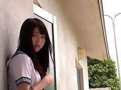 Hottest Japanese model Mayu Yukii in Best cuni, college JAV scene