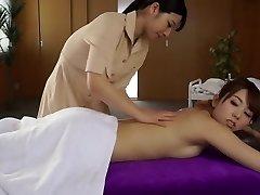 Best Chinese whore Ai Uehara, Yui Hatano in Uber-sexy massage, all girl JAV video