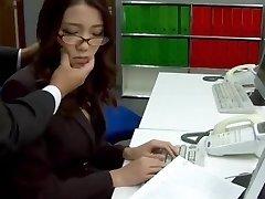 Subtitles - Boss fucked her asian secretary Ibuki
