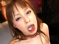 japanese girl  swallow jizm