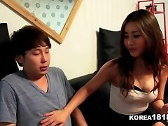 KOREA1818.COM - Lucky Virgin Fucks Steaming Korean Honey!