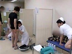 رائع اليابانية نموذج يوري عين ، يو كاواكامي ، آية Sakuraba في قرنية ممرضة JAV الفيديو