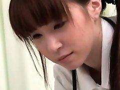 See how this Asian nurse gets so insane partSix