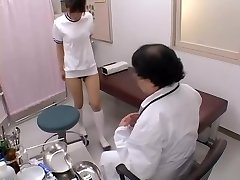 Asian broad with sexy orbs gets her buttock fingered in sex film