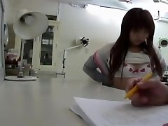 Physician.s vibro made this Japanese babe get an orgasm