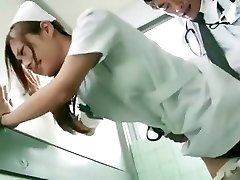 Horny Chinese girl Koi Aizawa in Fabulous Nurse JAV scene