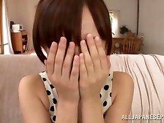 Ayumi Kimino hot Asian milf gets cooch torn up