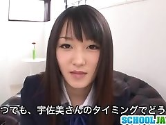 Nana Usami Gets Creampied In Her College Uniform
