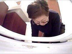 Asian hidden toilet camera in restaurant (#54)